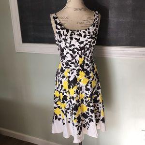 Nine West Floral Dress sz 6